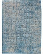 Teppich Antique Blau