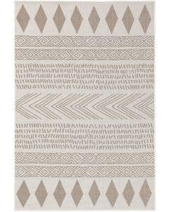 In- & Outdoor-Teppich Nillo Grau/Taupe