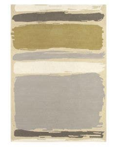 Wollteppich Abstract Beige