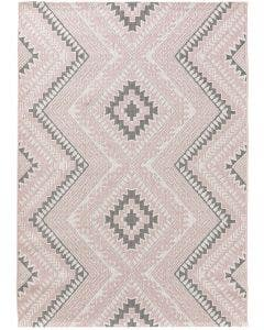 In- & Outdoor-Teppich Cleo Rosa